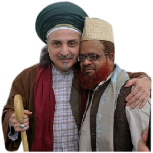 Allama Sufi Syed Jafar Sadek Shah With Eshraf Effendi An Naqshabendi