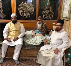 Allama Sufi Syed Jafar Sadek Shah at Ajmeer Sharif 01