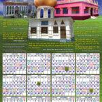 Annual Calendar 2012 – Rahe Vander Tariqa