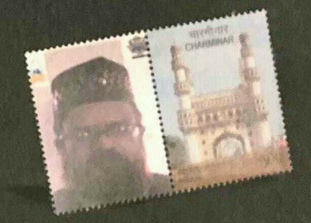 Post Stamp Published by Indian Post Office Authority in Hydrabad